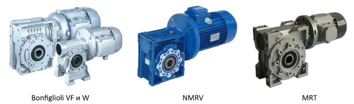 Мотор-редукторы Bonfiglioli VF и W, NMRV, MRT