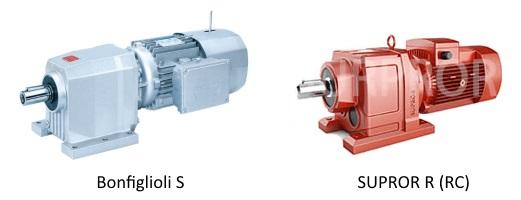 Мотор-редукторы Bonfiglioli S и R (RC)