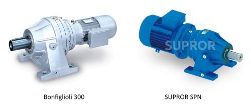 Мотор-редукторы Bonfiglioli 300 и Supror SPN
