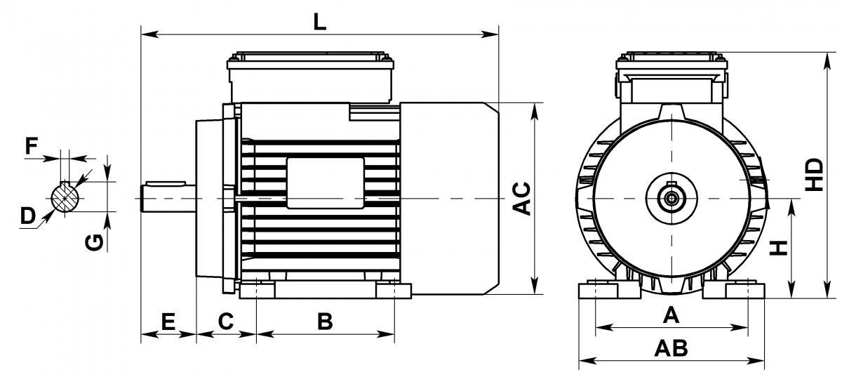 Схема Able ML - 1