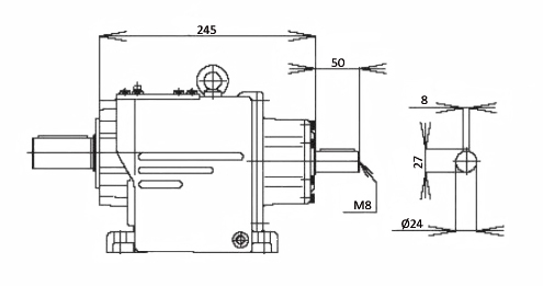 Мотор-редуктор MTC 42A