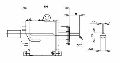 Мотор-редуктор MTC 72A