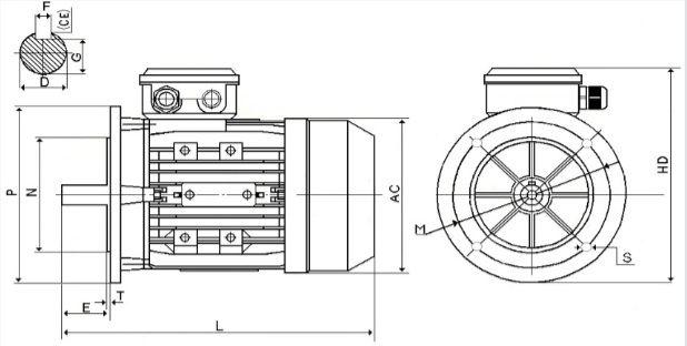 Размер оборудования